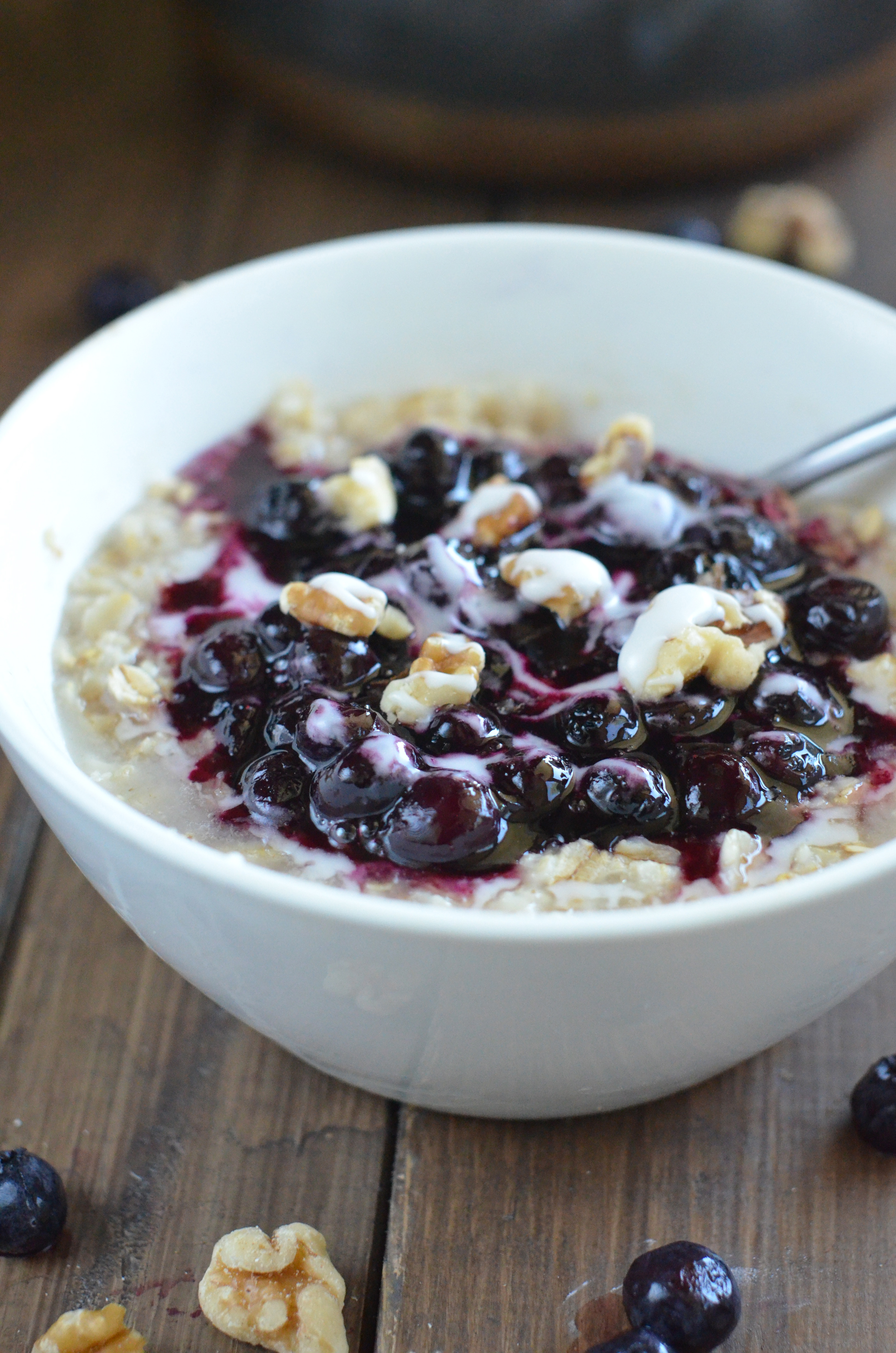 ... Blueberry Pie Oats a go and get ready to load the train to flavor town