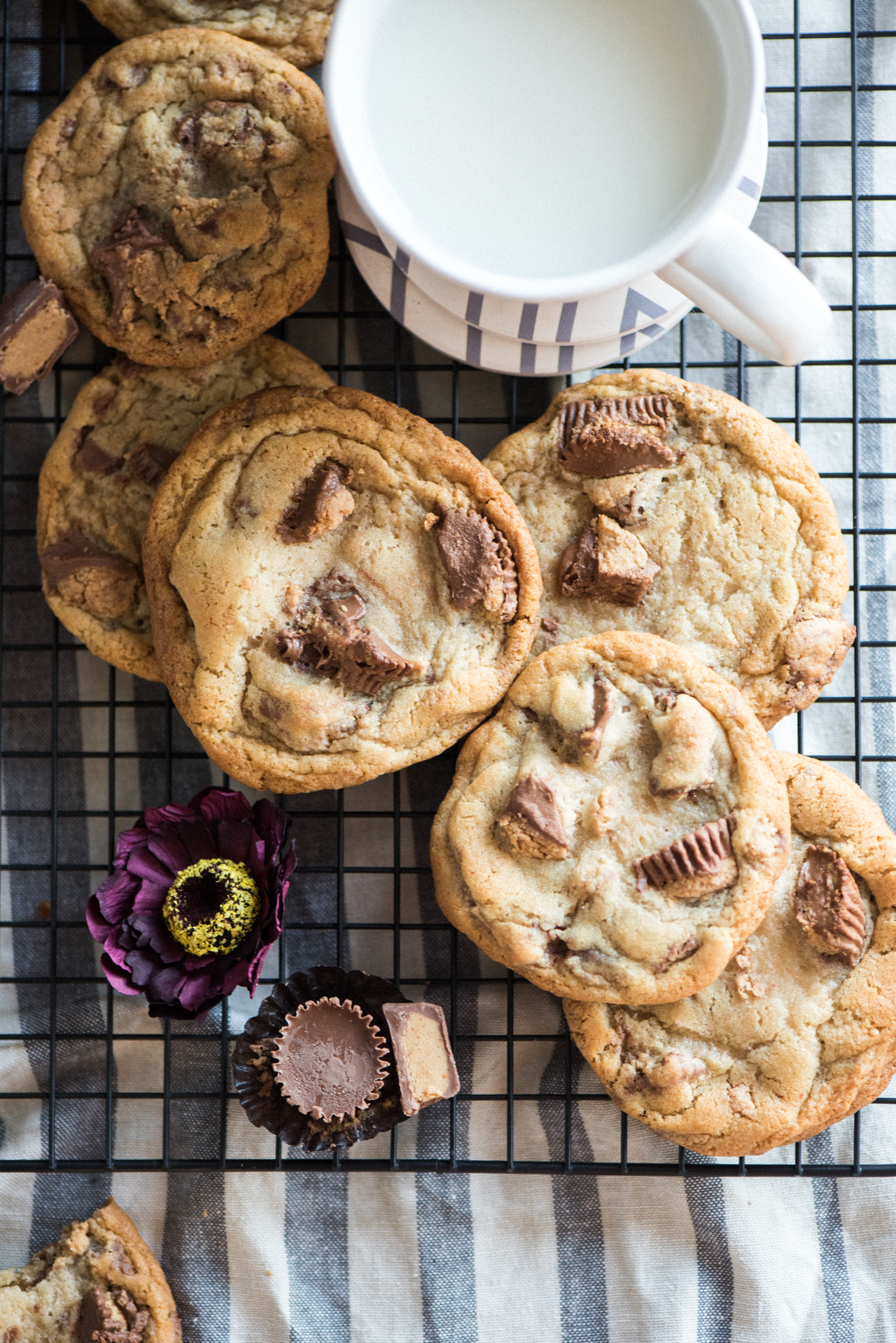 Reese S Peanut Butter Cup Cookies Apple Of My Eye